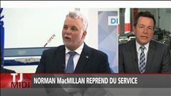Norm MacMillan reprend du service