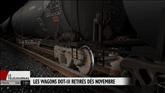 Retrait rapide des wagons DOT-111