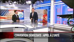 Convention démocrate: appel à l'unité