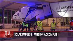 Le péripe du Solar Impulse 2 prend fin