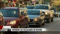 Une coroner pour l'interdiction complète du cellulaire au volant