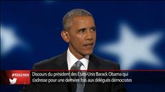 Hillary Clinton n'abandonne jamais la partie, dit Obama