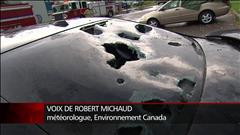 Pourquoi la grêle a-t-elle déferlé sur Saguenay?