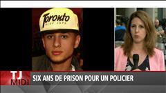 Forcillo écope de 6 ans de prison