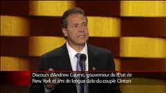 Le gouverneur Cuomo fait l.éloge de Clinton