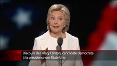 Nous n'allons pas construire un mur, dit Hillary Clinton