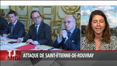 Attentat dans une église : un « échec » judiciaire, reconnaît Valls