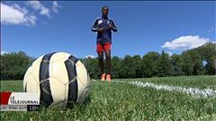 Abu Eyale s'investit complètement dans son sport, le soccer
