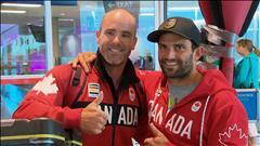 Les athlètes olympiques de Québec rentrent au bercail