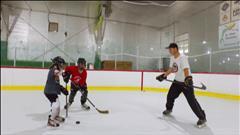 Camp de hockey et de ringuette en français à Saint-Malo