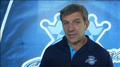 Marc Bergevin parle de la Coupe du monde de hockey au Saguenay