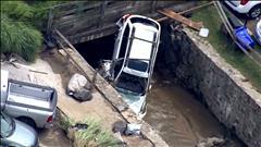 Des inondations historiques dévastent Ellicott City au Maryland