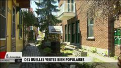 Hausse des ruelles vertes à Montréal