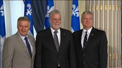 Remaniement à Québec
