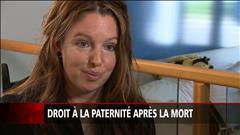 Une mère se bat pour donner le nom du père décédé à leur enfant