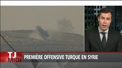 Première offensive turque en Syrie