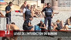 Levée de l'interdiction du Burkini en France