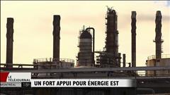 Une coalition vante les retombées d'Énergie Est
