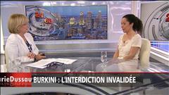 Burkini : l'interdiction invalidée