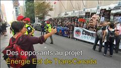 Énergie Est : les audiences suspendues à Montréal