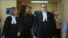 Normandeau comparaît brièvement à Québec