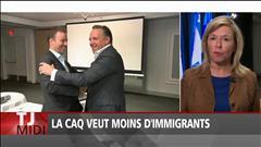 La CAQ veut moins d'immigrants