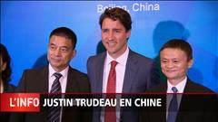 Trudeau rencontre le pdg d'Alibaba