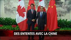 Ententes canadiennes en Chine