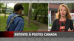 Entente à Postes Canada