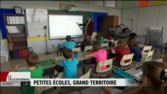 De petites écoles anglophones sur un grand territoire