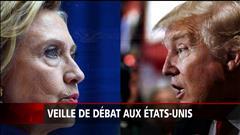 Veille de débat aux États-Unis