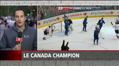 Jean-Patrick Balleux était à Toronto pour la Coupe du monde