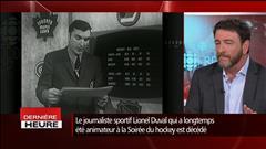 Guy D'Aoust rend hommage à Lionel Duval