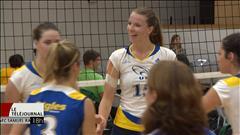 Tournoi à Winnipeg pour deux Manitobaines, membres de l'équipe de volleyball de l'Université de Moncton