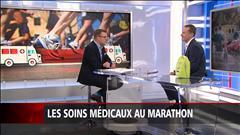 Les soins médicaux au marathon