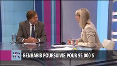 Benhabib poursuivit pour 95 000$