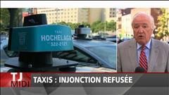 Le front commun de l'industrie du taxi essuie un autre revers