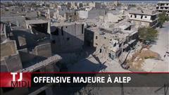 L'armée syrienne lance une offensive terrestre à Alep