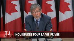 Ottawa doit examiner l'impact de la loi antiterroriste, selon le commissaire à la vie privée