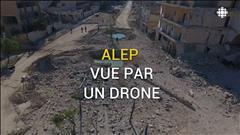 La dévastation d'Alep vue par un drone