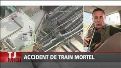 Accident de train au New Jersey