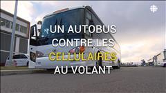 Des automobilistes au cellulaire pincés grâce à un autobus