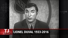 Le journaliste sportif Lionel Duval est décédé