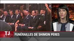 Funérailles de Shimon Peres
