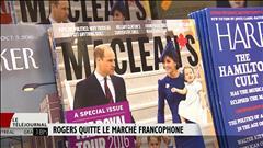 Rogers quitte le marché francophone