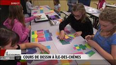 Cours de dessin pour enfants à Île-des-Chênes