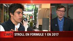 Lance Stroll en formule un en 2017
