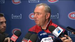 Point de presse Michel Therrien