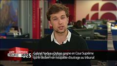 Gabriel Nadeau-Dubois gagne en Cour suprême