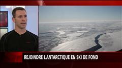 Rejoindre le pôle Sud en ski de fond